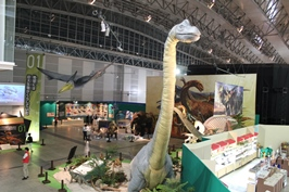 メガ恐竜展2015 at 幕張メッセ