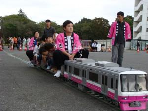 松戸駐屯地新京成電車